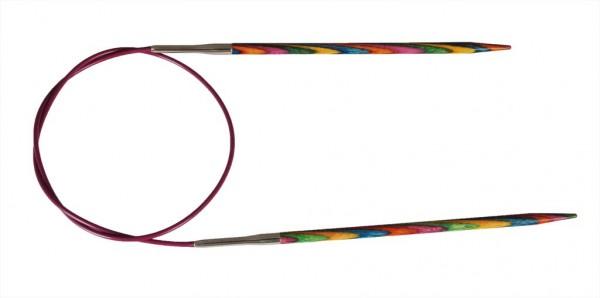 KnitPro Holzrundstricknadel 4,5 mm x L 40 cm (kurze Spitze)