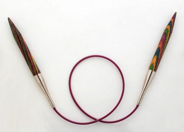 KnitPro Holzrundstricknadel 8 mm x L 40 cm (kurze Spitze)