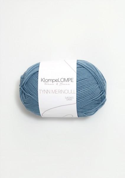KlompeLOMPE Tynn Merinoull Jeansblau