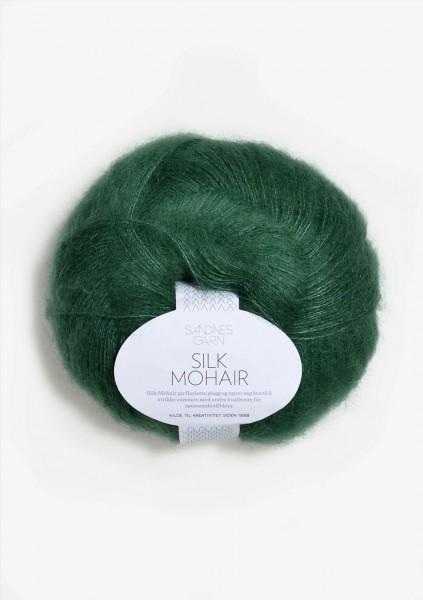 Silk Mohair Smaragd
