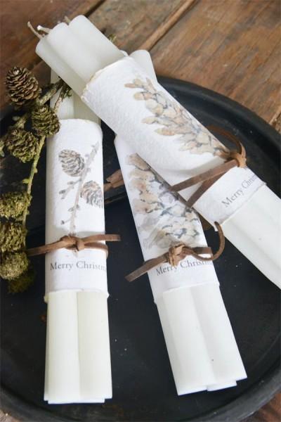 Kerzen (4) extra lang