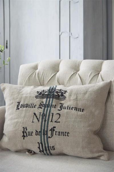 Kissenhülle Paris