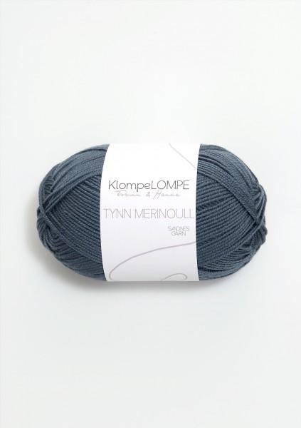 KlompeLOMPE Tynn Merinoull Blaugrün