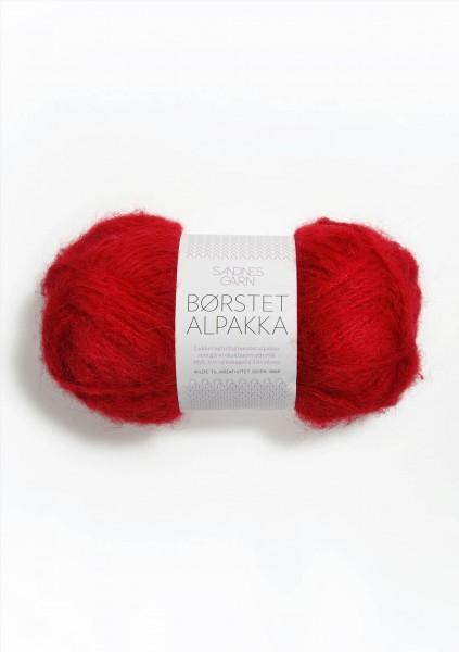 Borstet Alpakka Rot Fb. 4219