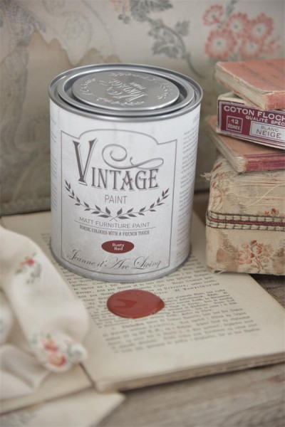 Vintage Paint Rusty Red 700 ml