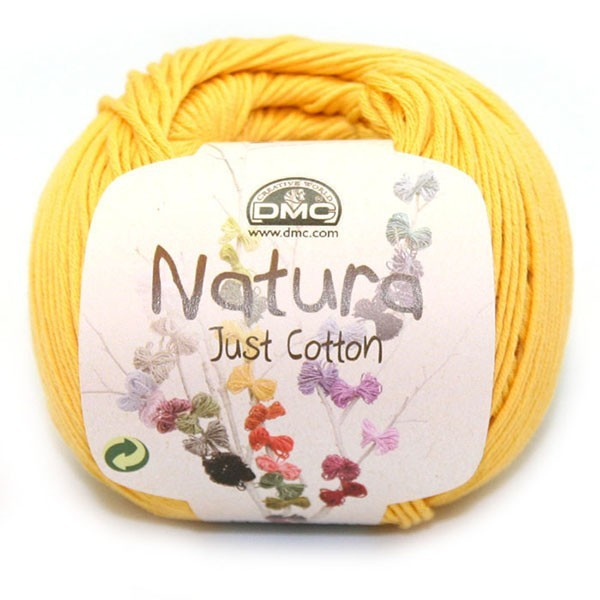 "Natura Just Cotton ""tournesol"""
