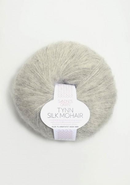 Tynn Silk Mohair Hellgraumeliert