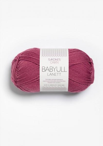 Babyull Lanett Dunkel Vintage Rosa