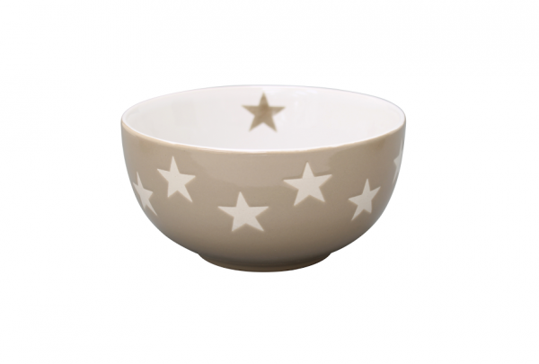 """Brightest Star Bowl """"taupe"""""""