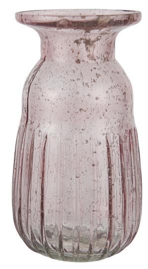 Hyazinthenvase pebbled Rosa