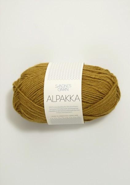 Alpakka Ocker