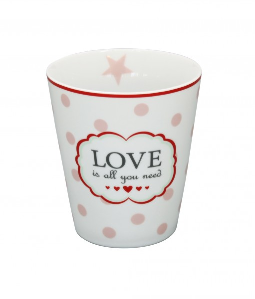 "Happy Mug ""Love is all you need"""