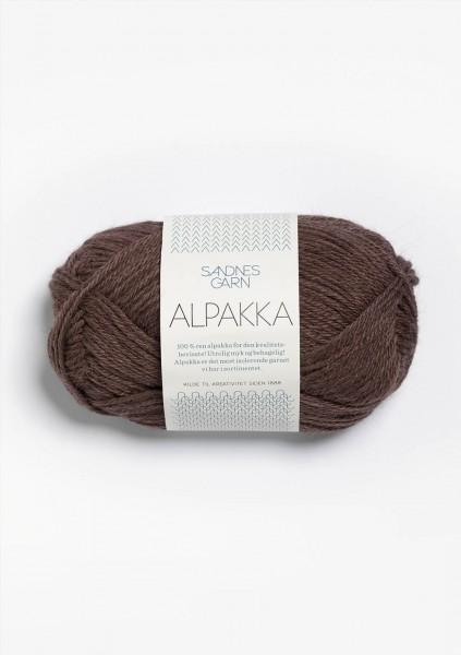 Alpakka Braun