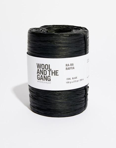 Ra-Ra Raffia Coal Black