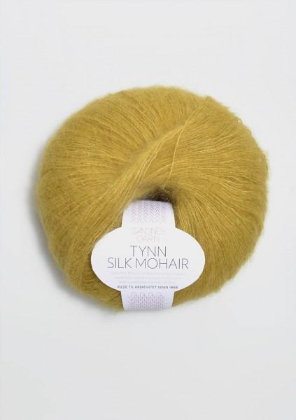 Tynn Silk Mohair Gelbgrün
