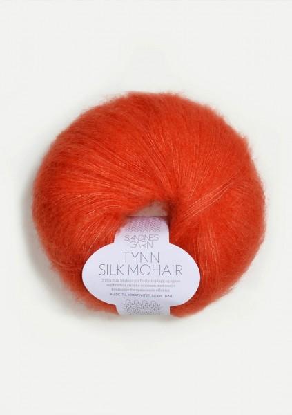 Tynn Silk Mohair Orange