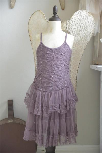 Kleid Princess Dreams plum Gr. 4 J