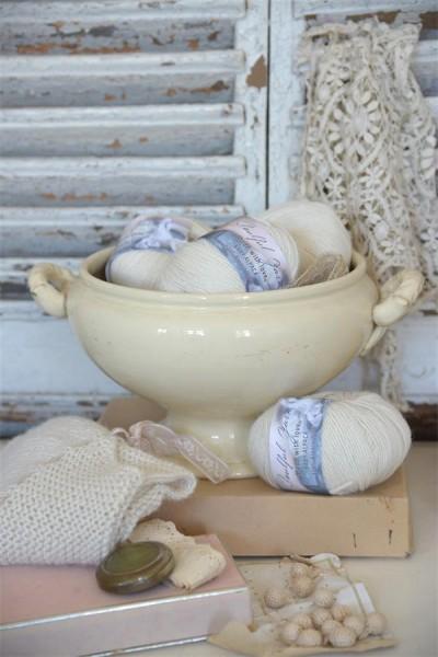 Baby Alpakka Warm Cream