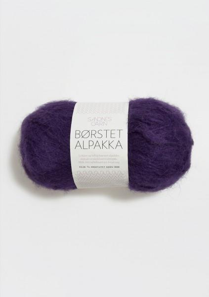 Borstet Alpakka Lila Fb. 5229