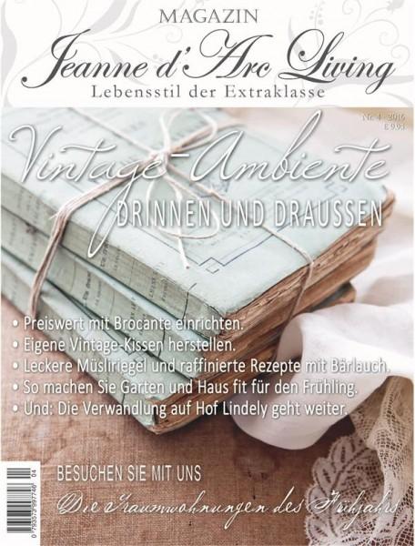 Jeanne d'Arc Living Magazin 04/2016