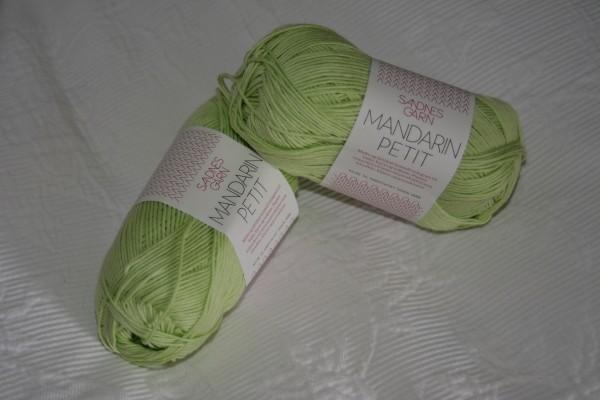 Mandarin Petit Zartgrün