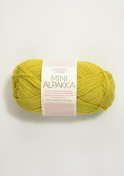 Mini Alpakka Zitronengelb
