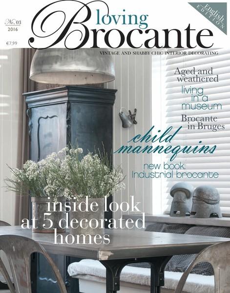 Loving Brocante 03/2016 Englische Ausgabe