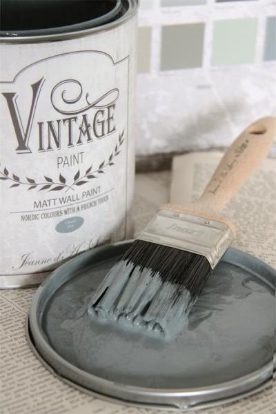 Vintage Paint Wandfarbe Ocean Blue