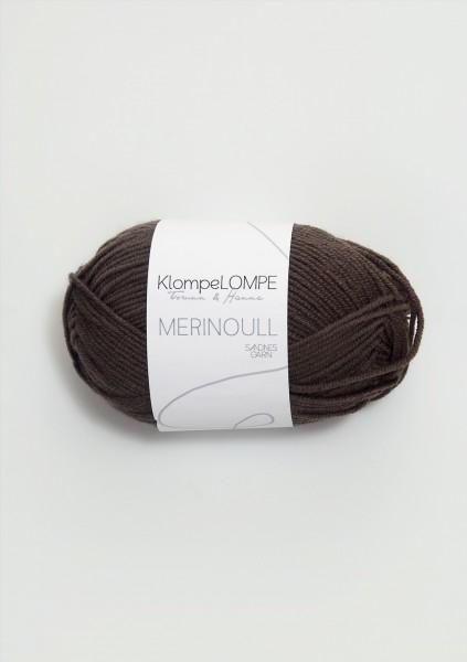 KlompeLOMPE Merinoull Dunkelbraun