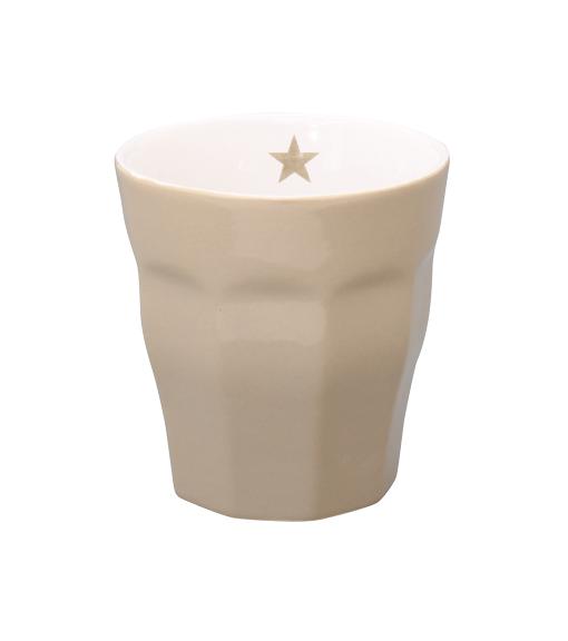 "Brightest Star Latte Mug ""taupe"""