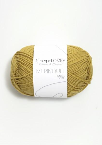 KlompeLOMPE Tynn Merinoull Korngelb
