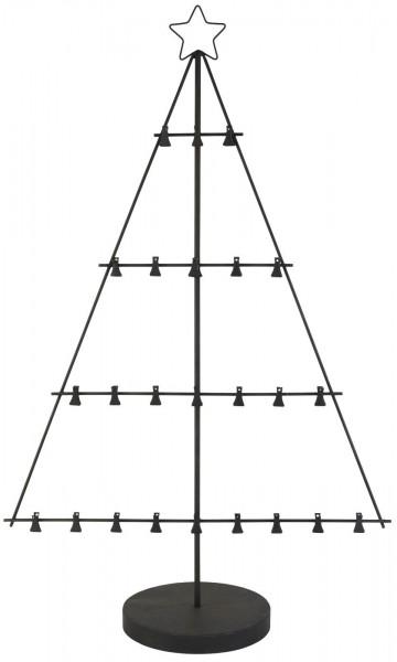Adventskalender Tannenbaum mit Fuß