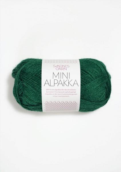 Mini Alpakka Smaragd