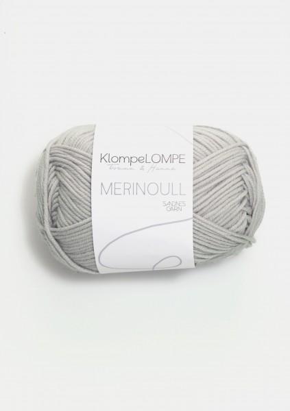 KlompeLOMPE Tynn Merinoull Dunkel Kitt