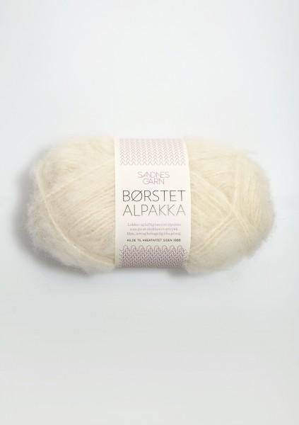 Borstet Alpakka Creme Fb. 1012