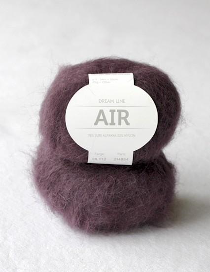 "Dream Line Air ""aubergine"""