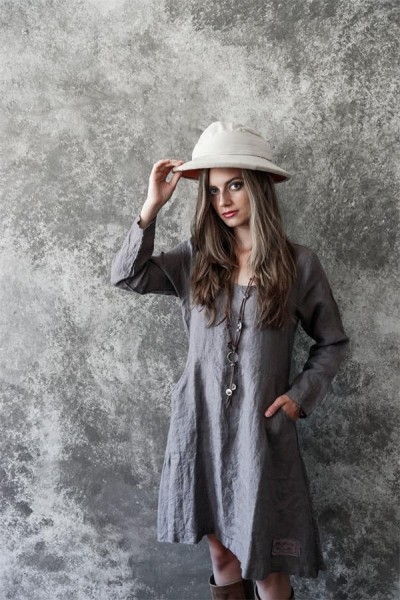 Kleid Natural Romantic Gr. XS - S