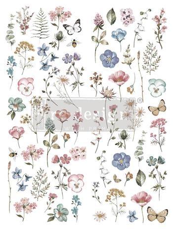 Transferfolien Delicate Fleur