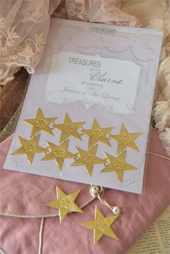Bogen mit goldenen Sternen