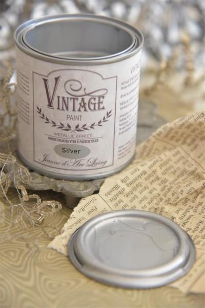 Vintage Paint Silber Metallic 200 ml