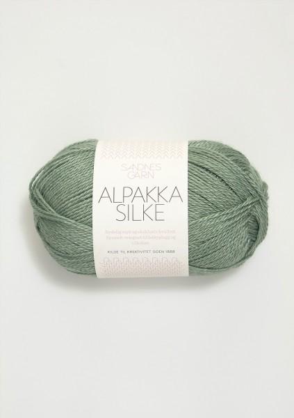 Alpakka Seide Vintage Grün
