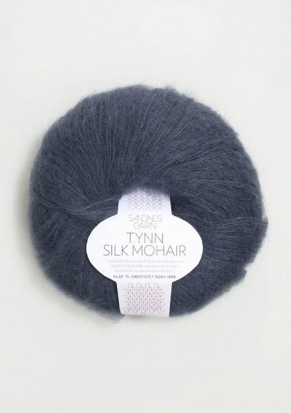 Tynn Silk Mohair Tiefblau
