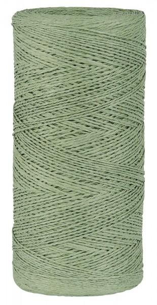 Papierfaden staubig grün 5 m