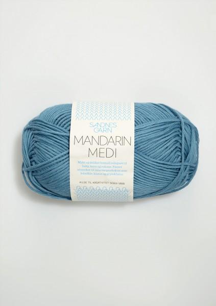 Mandarin Medi Jeansblau
