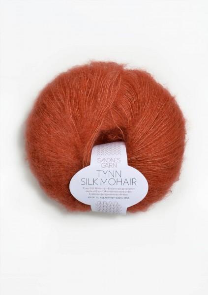 Tynn Silk Mohair Terrakotta