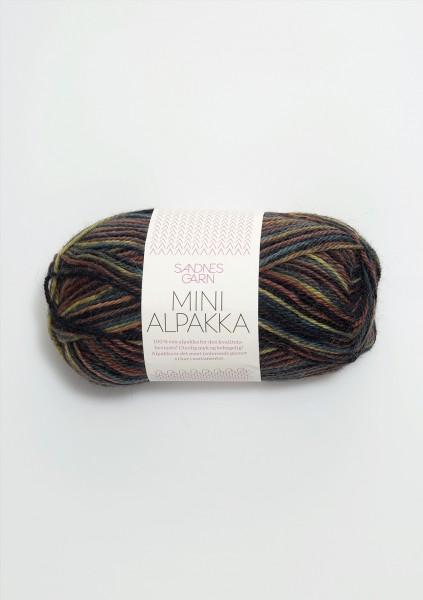 Mini Alpakka Symfoni Print