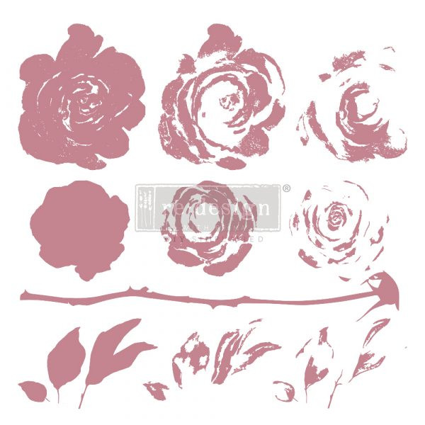 Re-Design Decor Stamps Mystic Rose