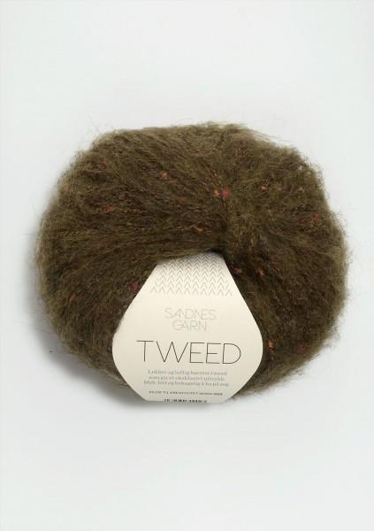 Tweed Grün