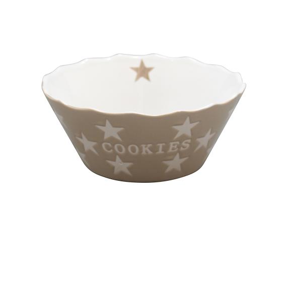 "Happy Stars ""Cookies"" taupe"