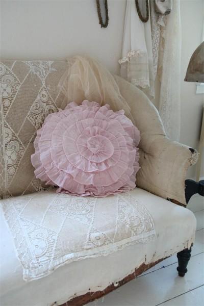 Kissenhülle powder rose